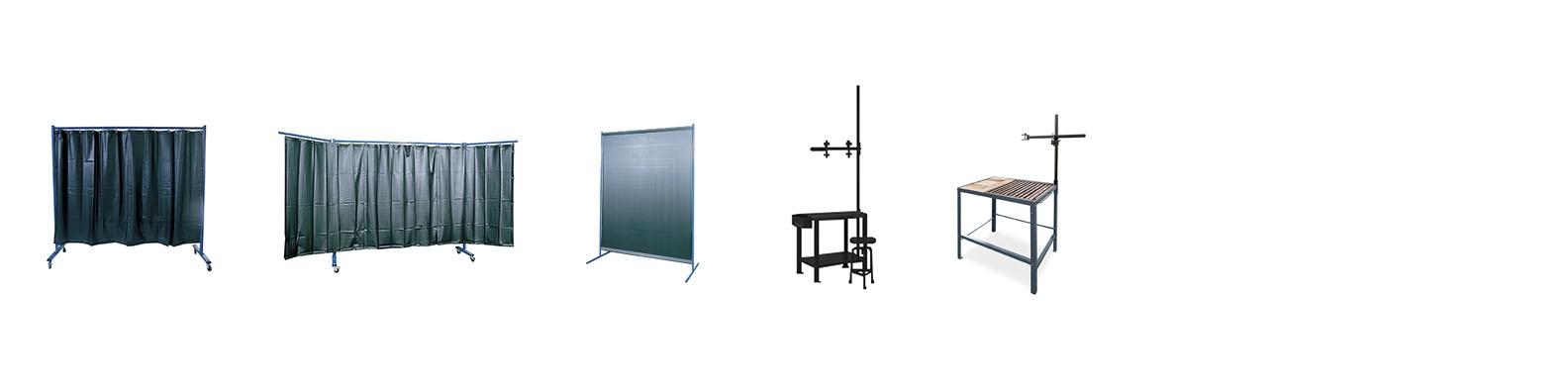 Protección y organización del taller
